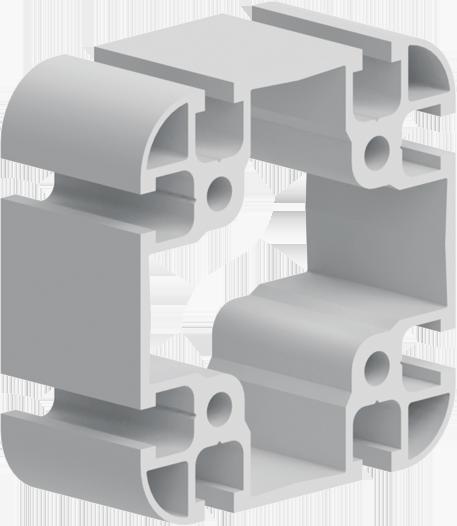 profilo strutturale 90x90 in alluminio