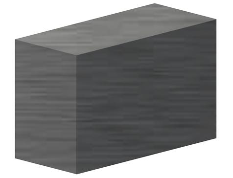 barra rettangolare in carbonio pultruso CarboSix