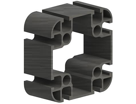 profilo strutturale modulare in carbonio pultruso 90x90 CarboSix