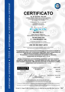 CarboSix Alusic profili strutturali carbonio certificato Tüv
