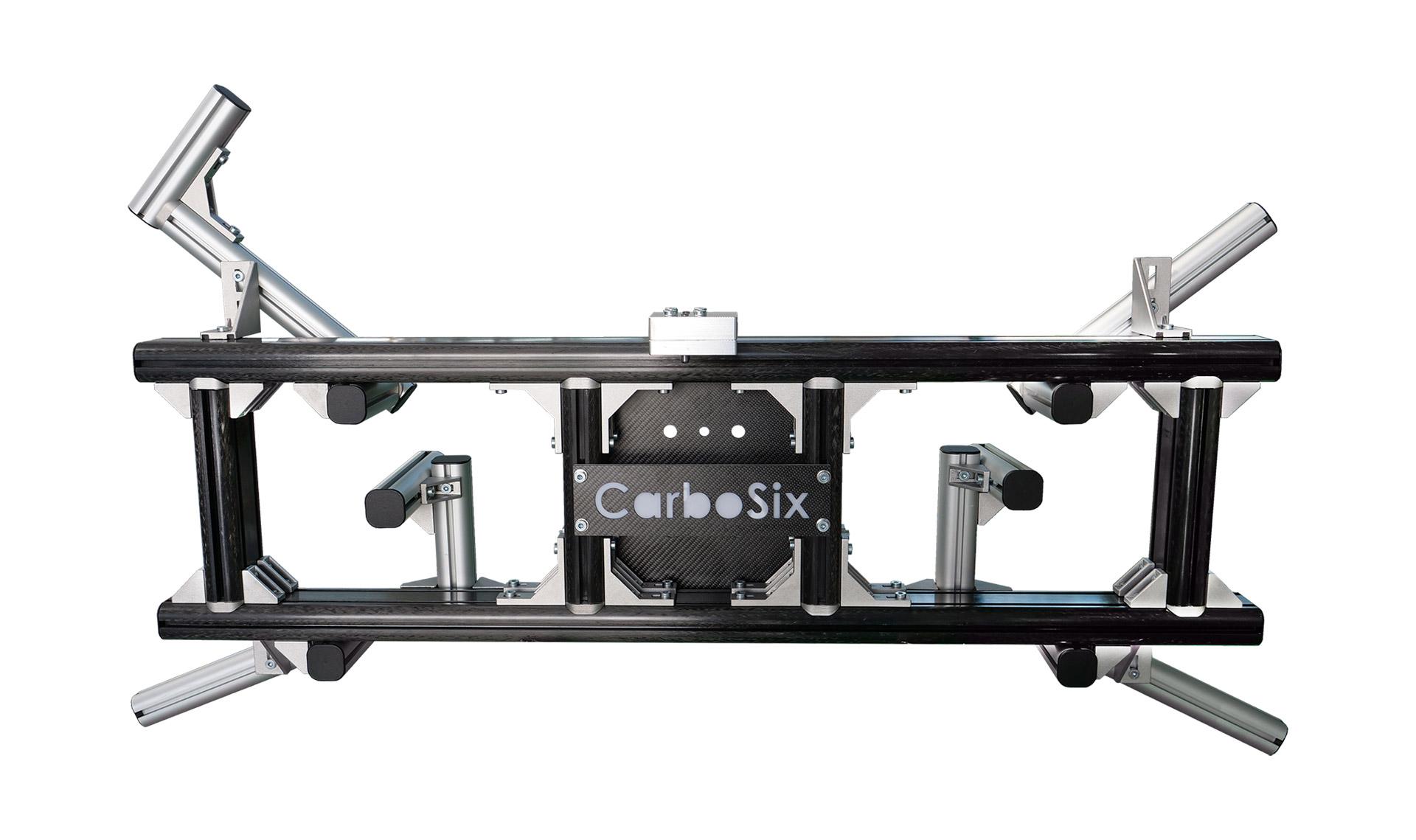 Gripper in carbonio per robot antropomorfo
