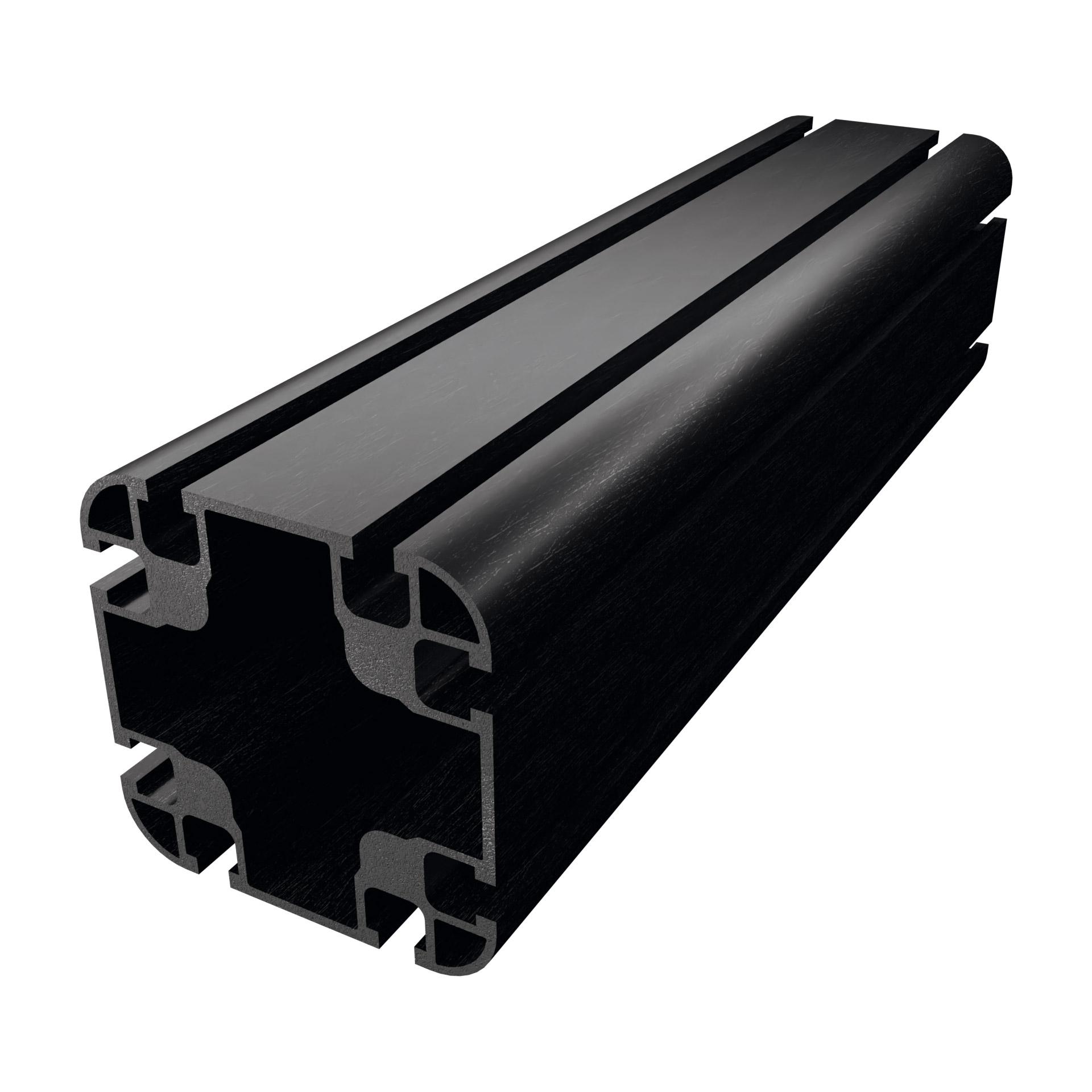 Carbosix Profilo in fibra di carbonio 90x90