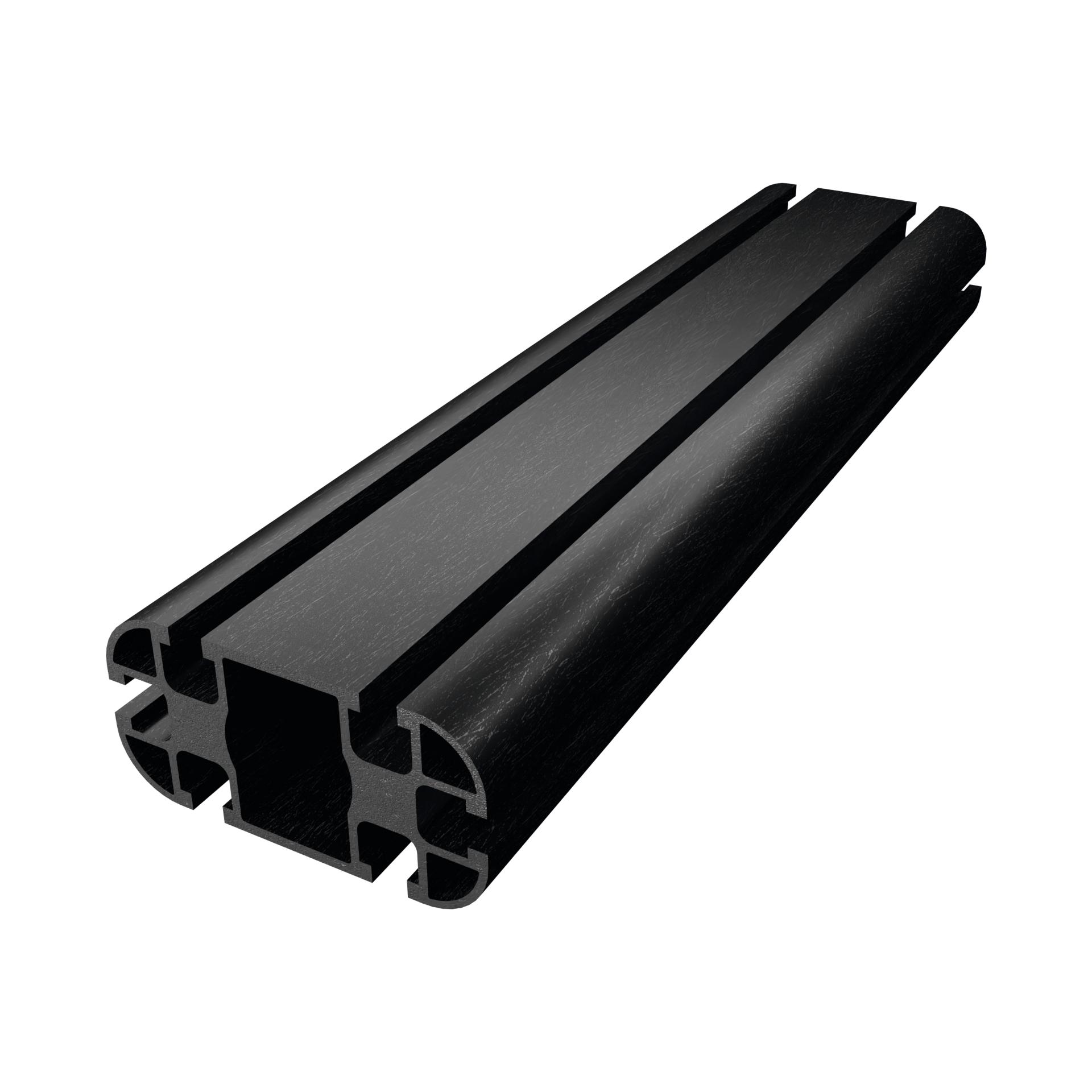 CarboSix Profilo in fibra di carbonio 45x90
