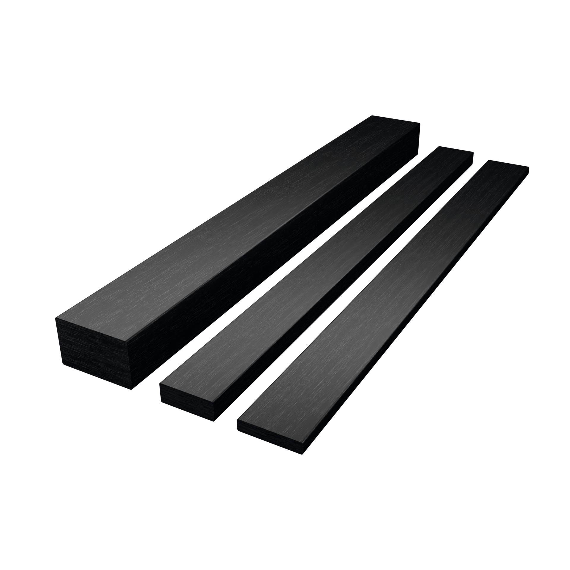 CarboSix carbon fibre Rectangular bars