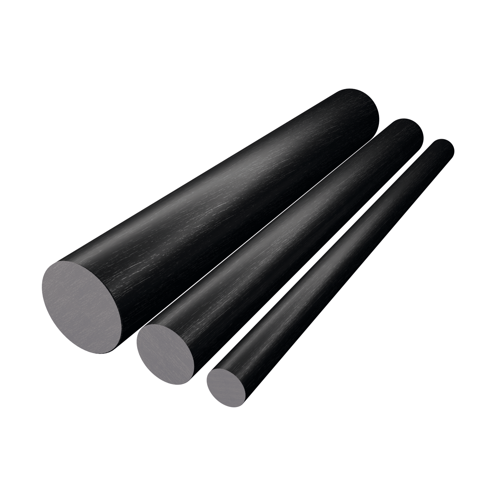 CarboSix carbon fibre Round bars