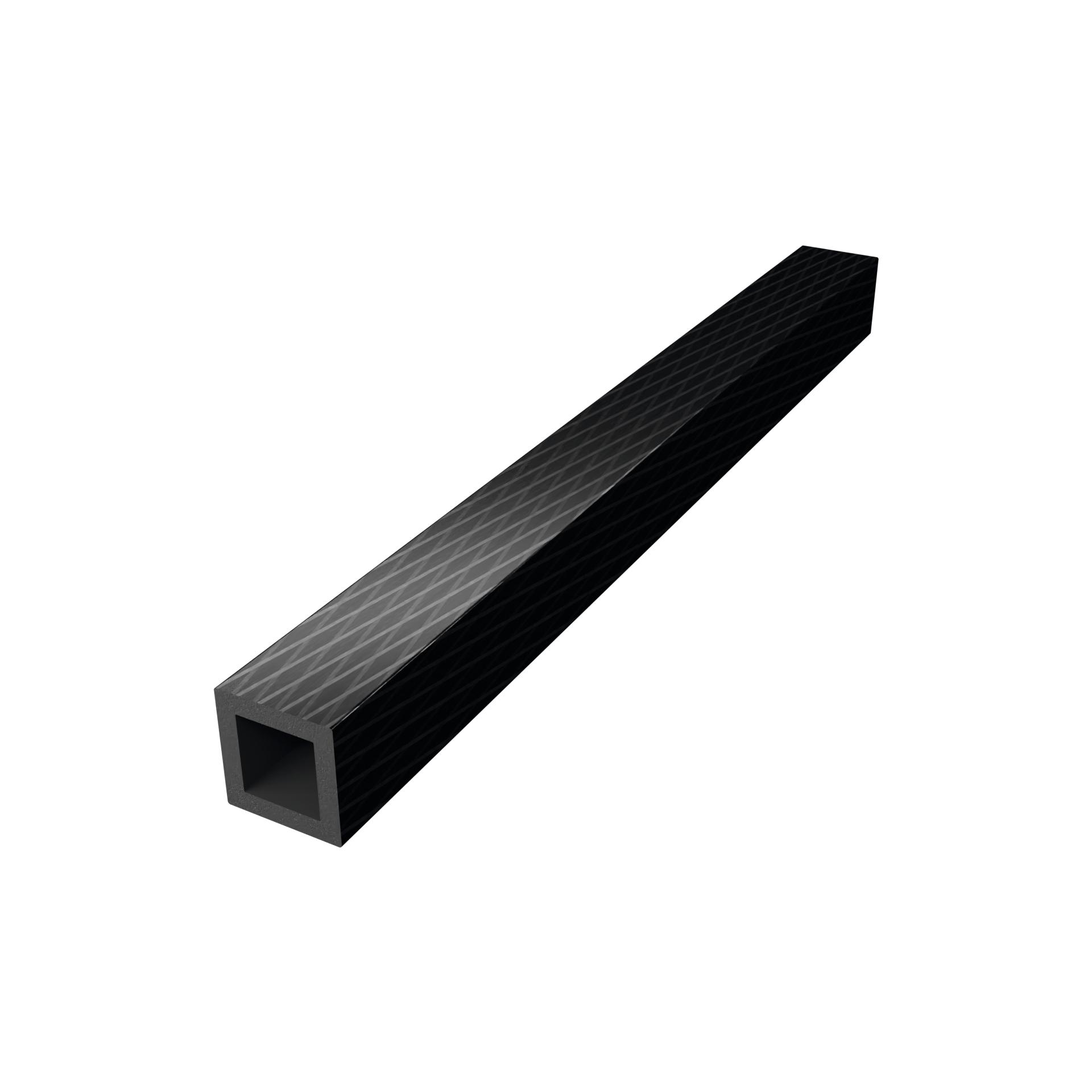 CarboSix tubi rettangolri e scatolati in fibra di carbonio