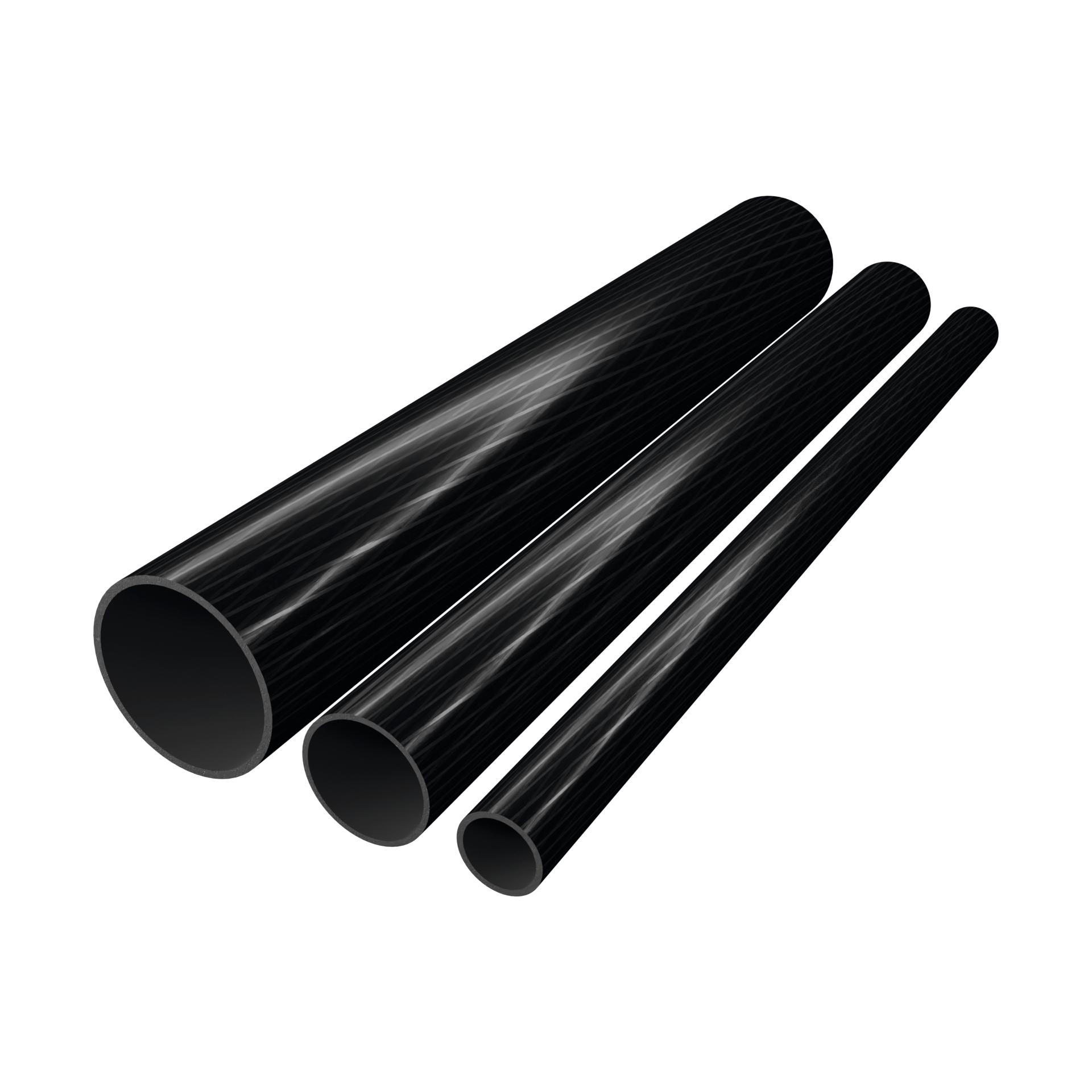 CarboSix Tubi in fibra di carbonio