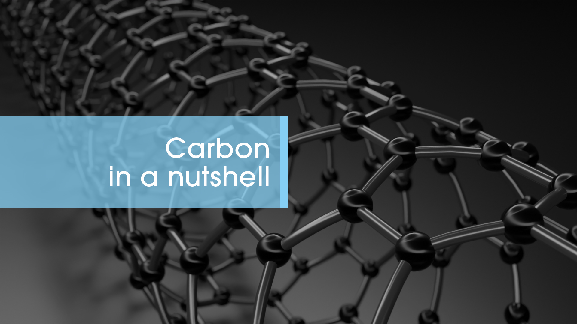 Carbon in a nutshell